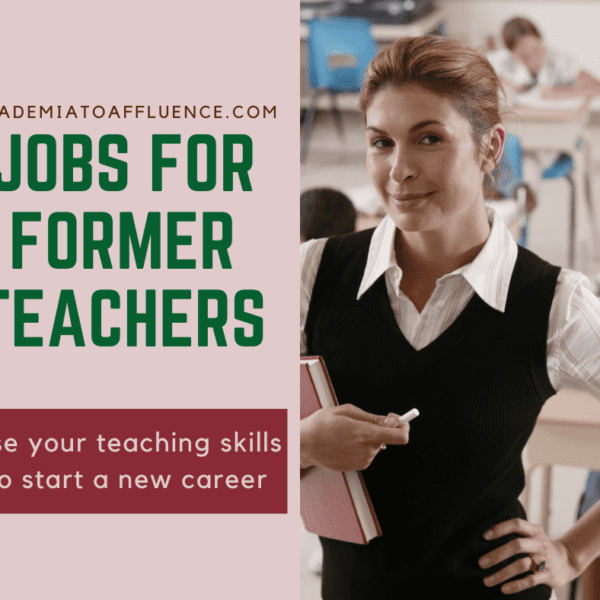 jobs for former teachers