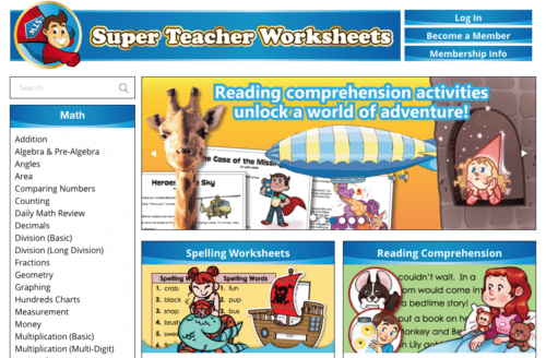 sell teaching materials